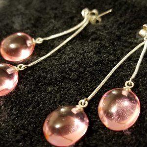 COPY - Bubblegum Pink Dangle Earrings